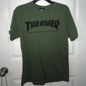 medium thrasher t shirt